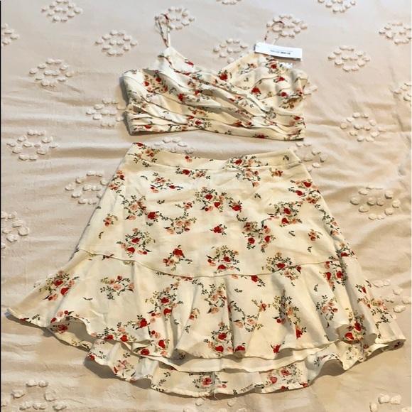 Lush Dresses & Skirts - Lush two piece skirt set